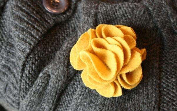 bros dari kain flanel