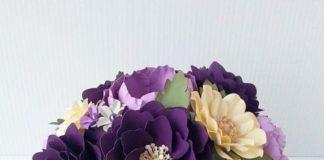 buket bunga kertas