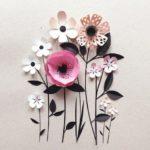 bunga art paper