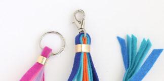 cara membuat gantungan kunci