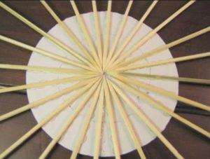 cara membuat hiasan bambu (2)