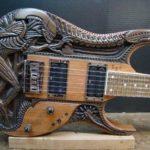 contoh custom gitar