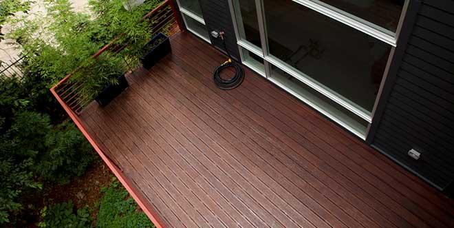decking bambu