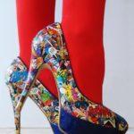 decoupage pada sepatu