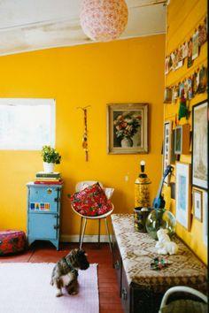 dinding kuning