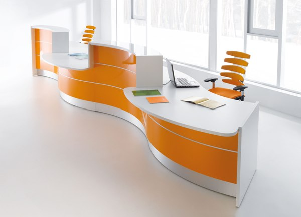 front office meja