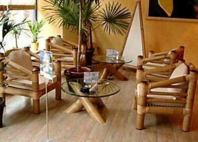 mebel bambu dengan lem yang kuat untuk bambu