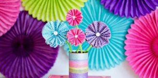 hiasan bunga kertas