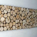 hiasan kayu bulat