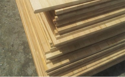 panel bambu vertikal