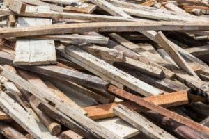 kayu bekas