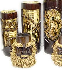 kerajinan bambu etnik