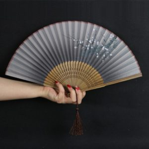 kipas bambu