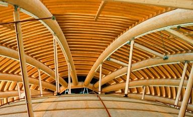 konstruksi kayu laminasi