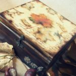 kotak kayu decuoupage