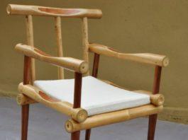 kursi bambu