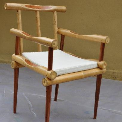 kursi bambu dengan lem yang kuat untuk bambu