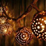 lampu batok kelapa