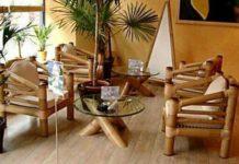 lantai dan mebel bambu