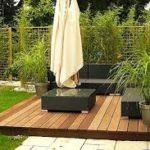 lantai decking kebun