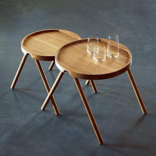 meja hiasan nampan