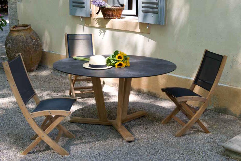 meja kayu hpl
