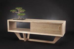meja kayu lapis