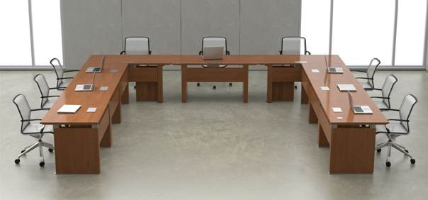 meja kerja untuk rapat