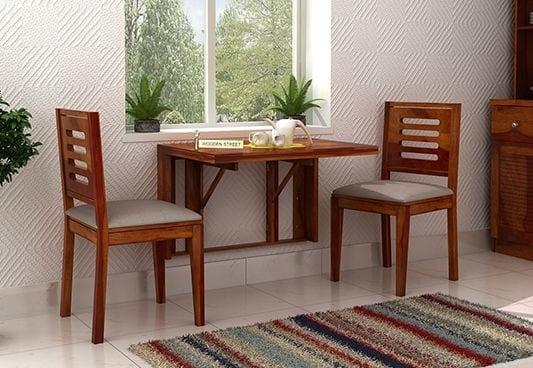 meja makan lipat dinding