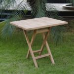 meja lipat kayu