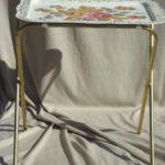 meja lipat vintage