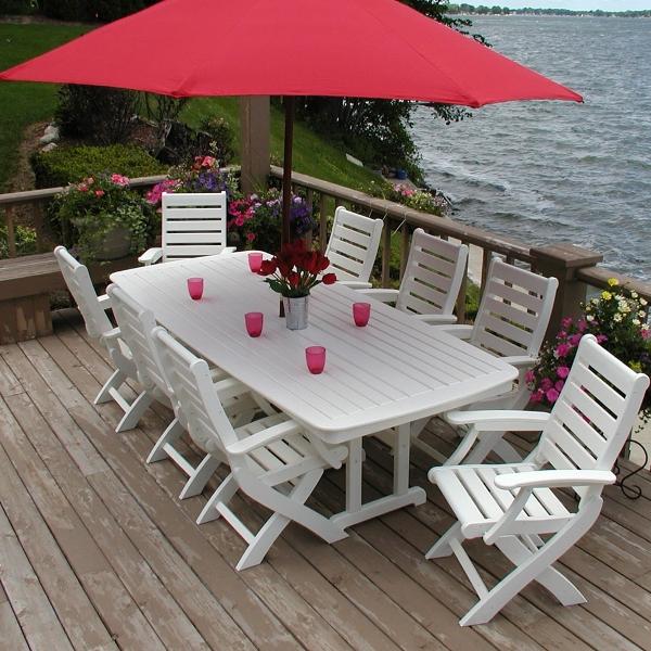meja makan nautical