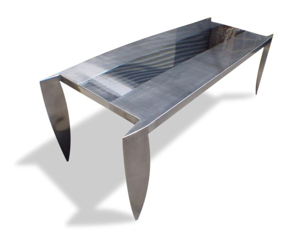 meja stainless menarik