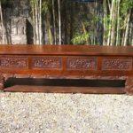 meja tv gaya tradisional bali
