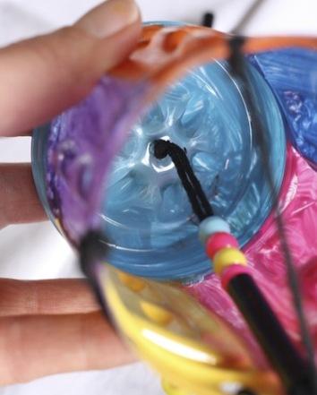 hiasan botol plastik bagus