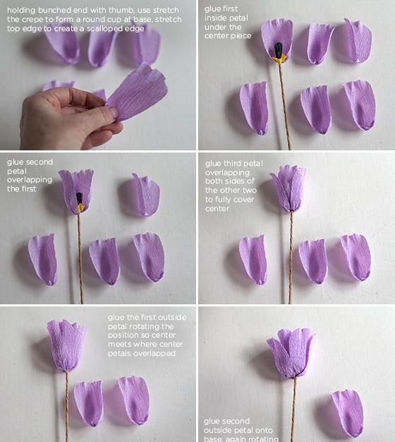membuat tulip