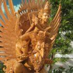 patung kayu nangka
