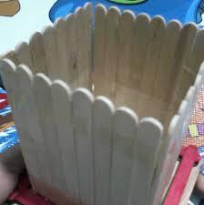 kotak pensil kayu dari pinus