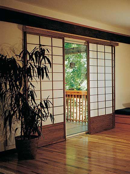 Japanese Door atau Pintu Jepang Geser dengan Lem untuk