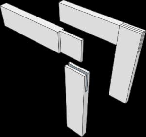 sambungan bridle