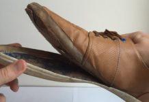 sol sepatu lepas