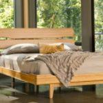 tempat tidur bambu laminasi