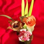 tips membuat bunga kertas hiasan