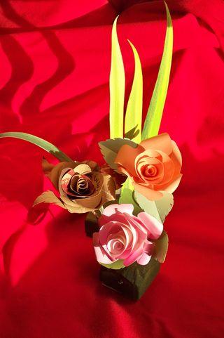 bunga kertas cantik