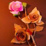 tutorial cara membuat bunga kertas